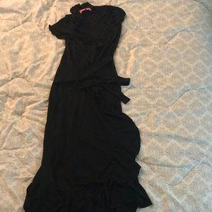 Black scalloped dress from Edina
